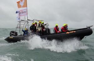 ST Michel Biscuits suivi départ du Vendée Globe